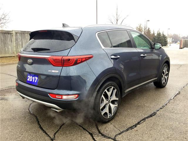 2017 Kia Sportage SX Turbo (Stk: U1438) in Hamilton - Image 25 of 28