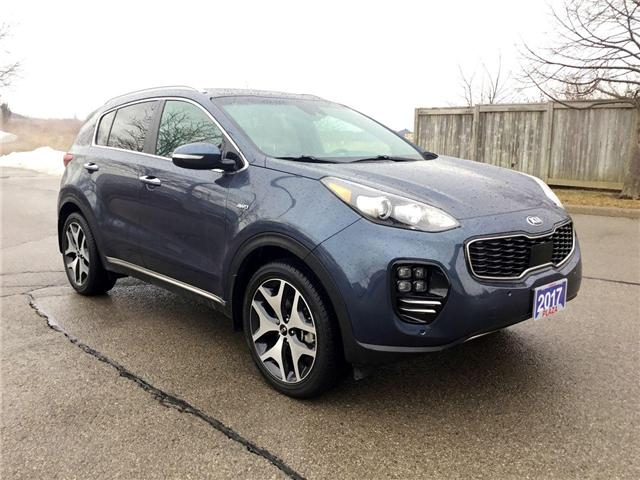 2017 Kia Sportage SX Turbo (Stk: U1438) in Hamilton - Image 27 of 28