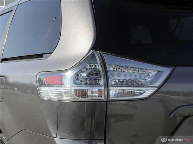 2016 Toyota Sienna SE 8 Passenger (Stk: U10970) in London - Image 27 of 27