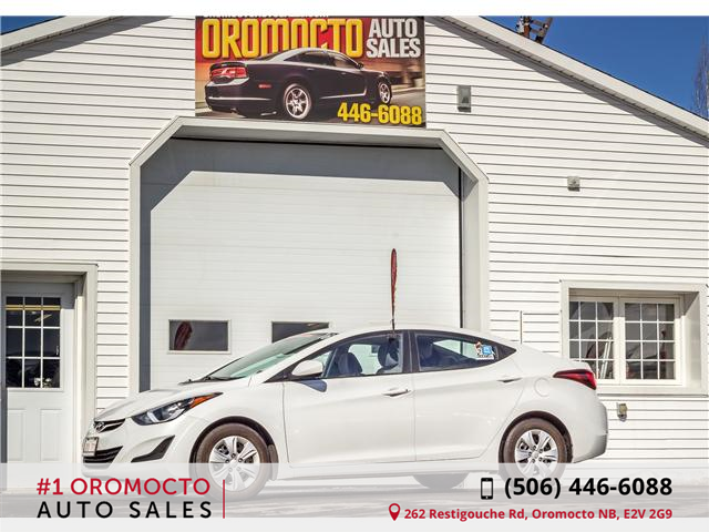 2016 Hyundai Elantra L+ (Stk: 887) in Oromocto - Image 1 of 9