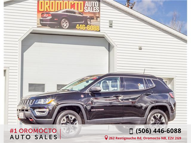 2018 Jeep Compass Trailhawk (Stk: 020) in Oromocto - Image 1 of 14