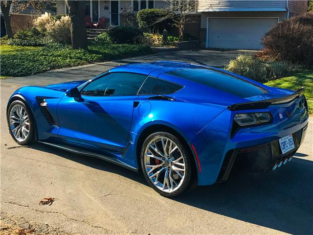2016 Chevrolet Corvette Z06 (Stk: U1247A) in Hamilton - Image 1 of 1