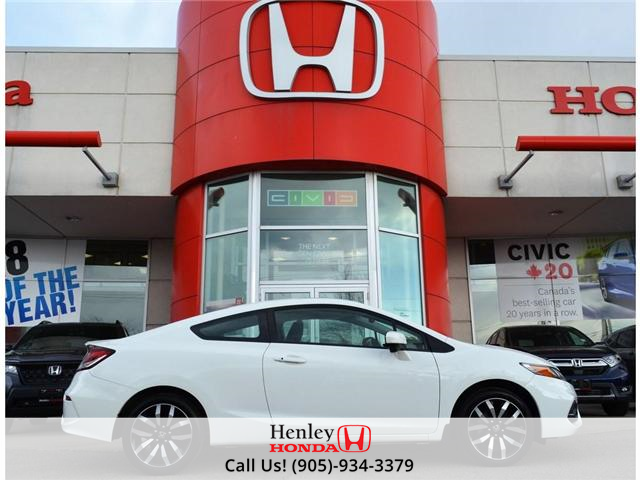 2015 Honda Civic EX-L Navi HEATED SEATS BLUETOOTH BACK UP CAM (Stk: R9334) in St. Catharines - Image 1 of 24