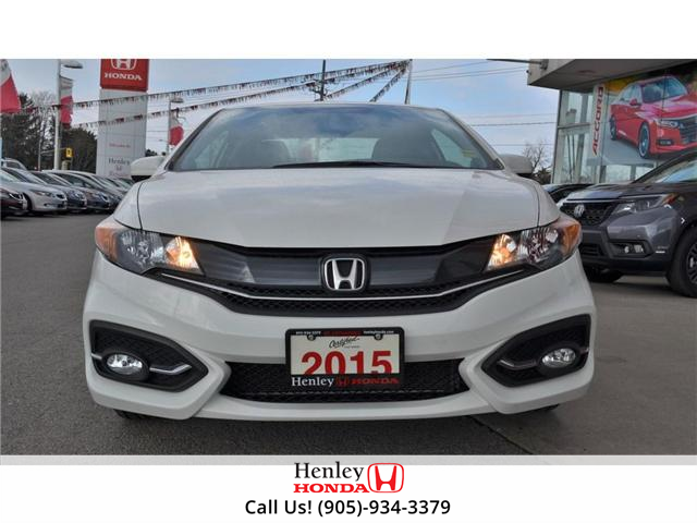 2015 Honda Civic EX-L Navi HEATED SEATS BLUETOOTH BACK UP CAM (Stk: R9334) in St. Catharines - Image 3 of 24