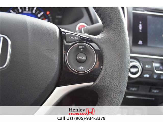 2015 Honda Civic EX-L Navi HEATED SEATS BLUETOOTH BACK UP CAM (Stk: R9334) in St. Catharines - Image 13 of 24