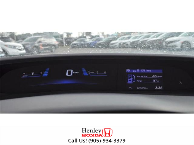 2015 Honda Civic EX-L Navi HEATED SEATS BLUETOOTH BACK UP CAM (Stk: R9334) in St. Catharines - Image 15 of 24