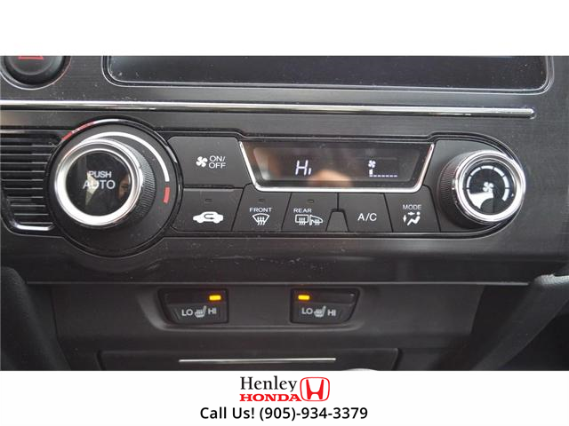 2015 Honda Civic EX-L Navi HEATED SEATS BLUETOOTH BACK UP CAM (Stk: R9334) in St. Catharines - Image 19 of 24