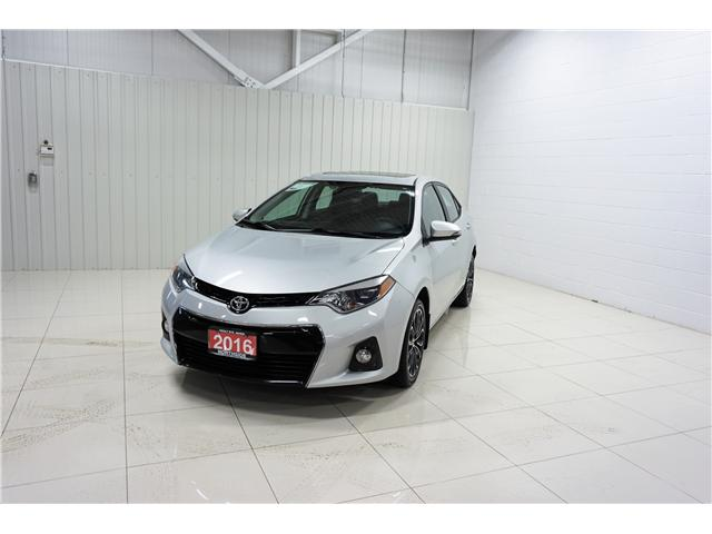 2016 Toyota Corolla S (Stk: P5201) in Sault Ste. Marie - Image 1 of 8