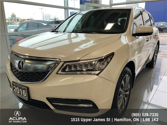 2016 Acura MDX Navigation Package (Stk: 1613370) in Hamilton - Image 1 of 16