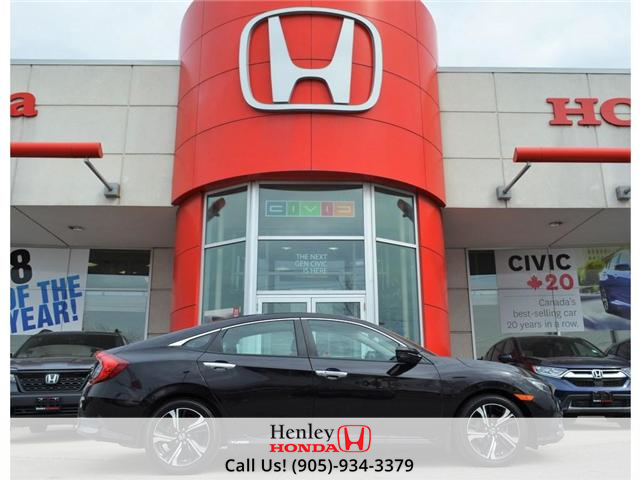 2016 Honda Civic Touring LEATHER NAVI HEATED SEATS BLUETOOTH (Stk: H17972A) in St. Catharines - Image 1 of 27