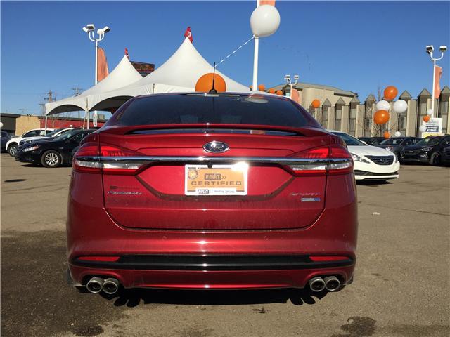 2017 Ford Fusion V6 Sport (Stk: B7264) in Saskatoon - Image 4 of 24