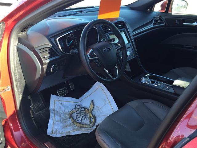 2017 Ford Fusion V6 Sport (Stk: B7264) in Saskatoon - Image 11 of 24