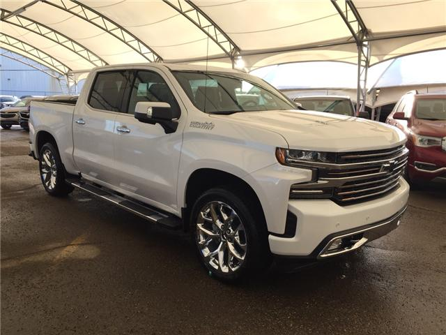 2019 Chevrolet Silverado 1500 High Country (Stk: 173150) in AIRDRIE - Image 1 of 22