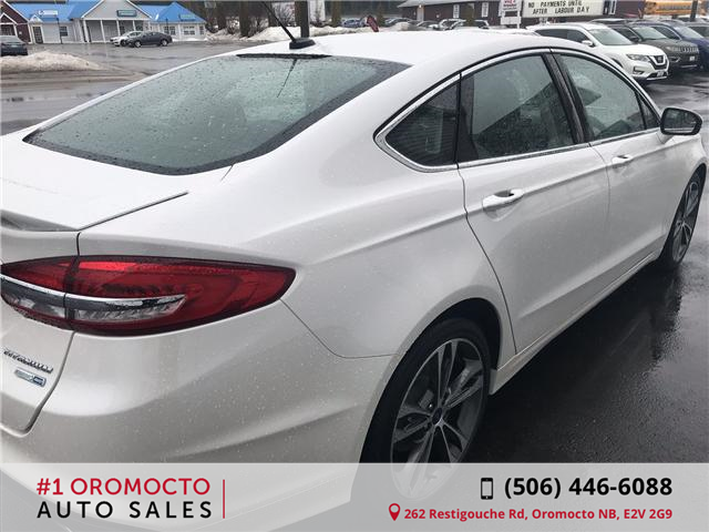 2018 Ford Fusion Titanium (Stk: 589) in Oromocto - Image 4 of 14