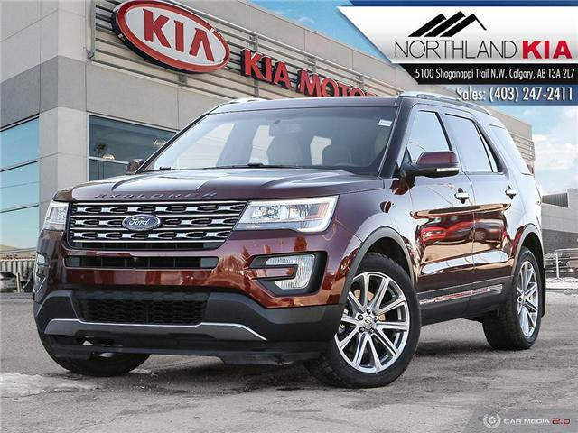 2016 Ford Explorer Limited (Stk: 9SR8521A) in Calgary - Image 1 of 28