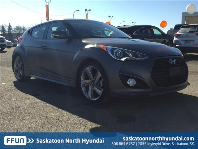 2015 Hyundai Veloster Turbo (Stk: B7276A) in Saskatoon - Image 1 of 26
