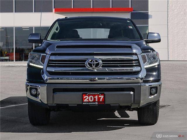 2017 Toyota Tundra Platinum 5.7L V8 (Stk: A219202) in London - Image 2 of 27