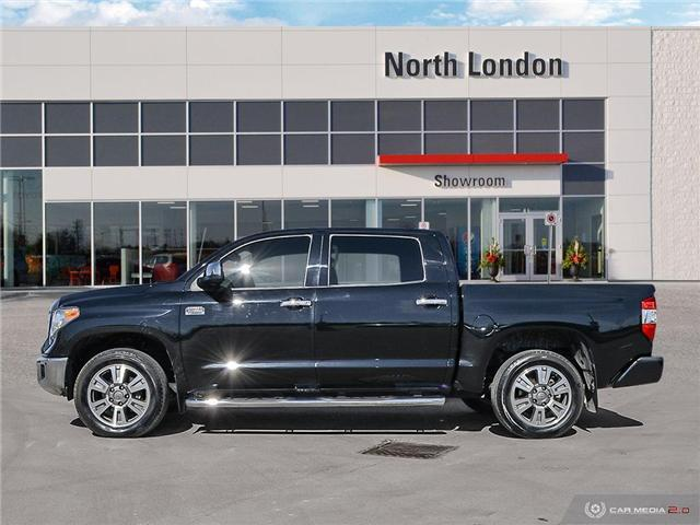 2017 Toyota Tundra Platinum 5.7L V8 (Stk: A219202) in London - Image 3 of 27