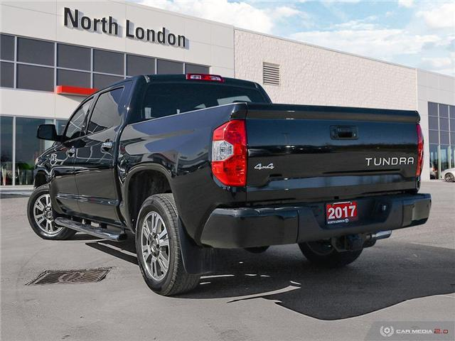 2017 Toyota Tundra Platinum 5.7L V8 (Stk: A219202) in London - Image 4 of 27