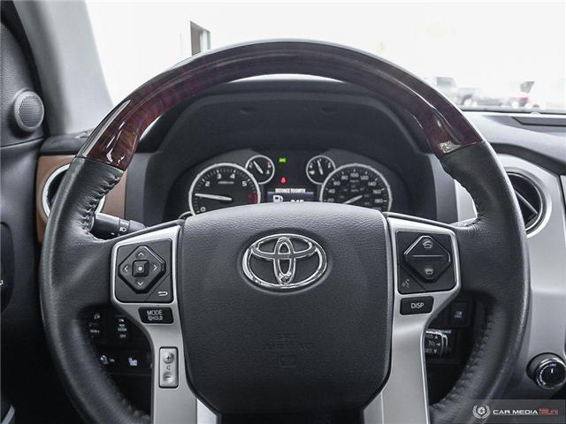 2017 Toyota Tundra Platinum 5.7L V8 (Stk: A219202) in London - Image 7 of 27