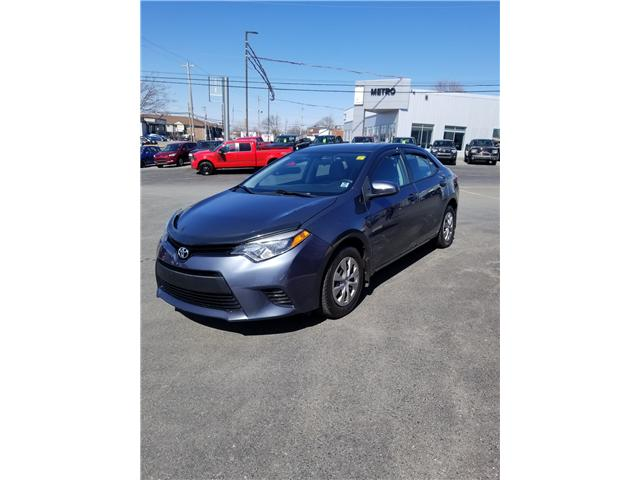 2015 Toyota Corolla S Premium CVT (Stk: p19-063) in Dartmouth - Image 1 of 9