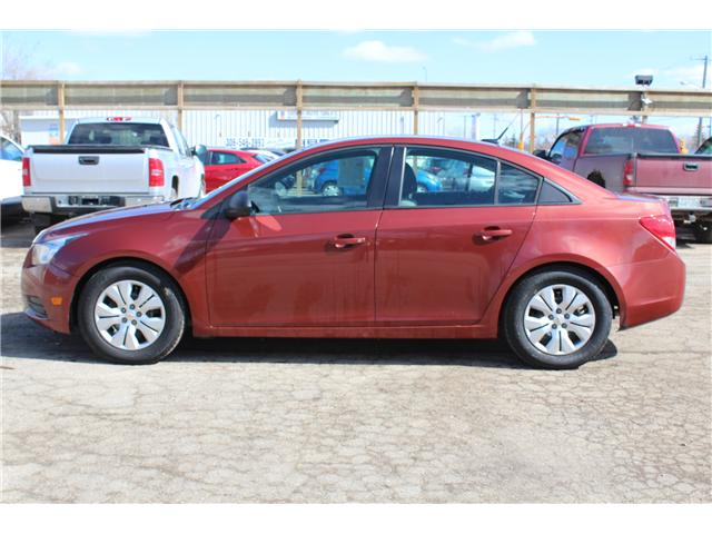 2013 Chevrolet Cruze LS (Stk: CC2530) in Regina - Image 1 of 17