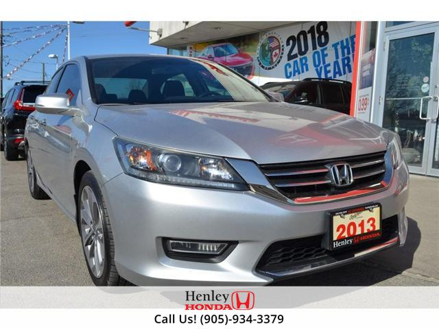 2013 Honda Accord Sport (CVT) HEATED SEATS BLUETOOTH BACK UP CAMERA (Stk: R9341) in St. Catharines - Image 2 of 25