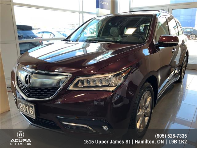 2016 Acura MDX Elite Package (Stk: 1613500) in Hamilton - Image 1 of 20