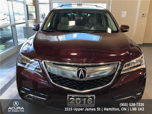 2016 Acura MDX Elite Package (Stk: 1613500) in Hamilton - Image 2 of 20