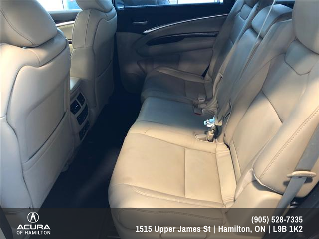 2016 Acura MDX Elite Package (Stk: 1613500) in Hamilton - Image 10 of 20