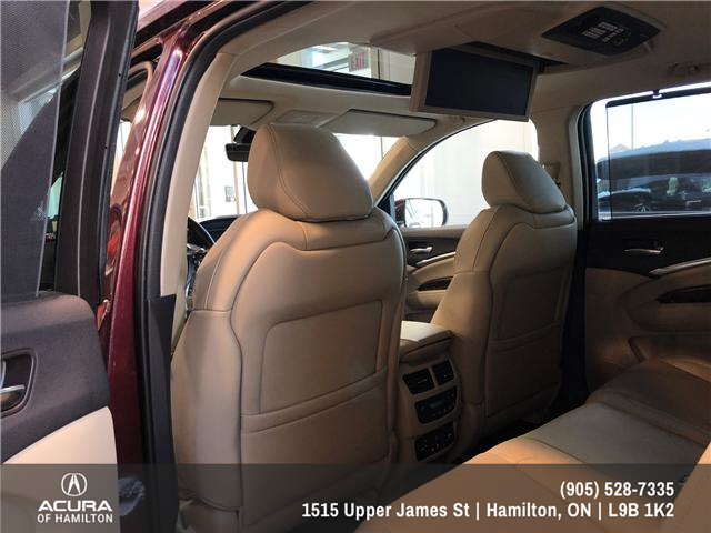 2016 Acura MDX Elite Package (Stk: 1613500) in Hamilton - Image 11 of 20