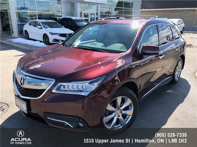 2016 Acura MDX Elite Package (Stk: 1613500) in Hamilton - Image 5 of 20