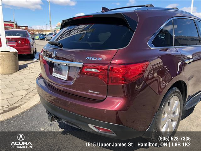 2016 Acura MDX Elite Package (Stk: 1613500) in Hamilton - Image 8 of 20