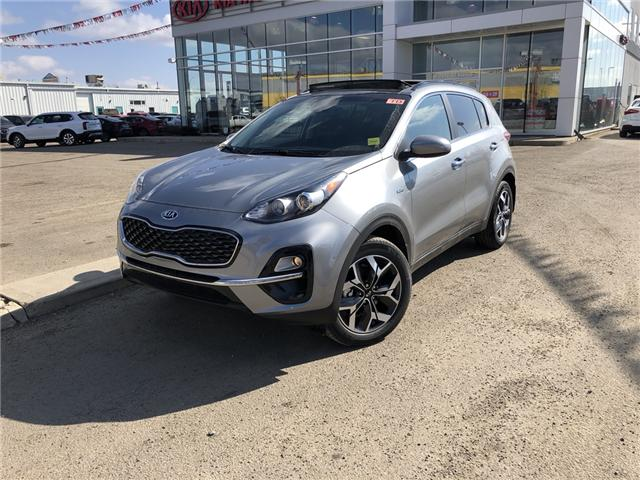 2020 Kia Sportage EX (Stk: 20SP5084) in Red Deer - Image 1 of 18