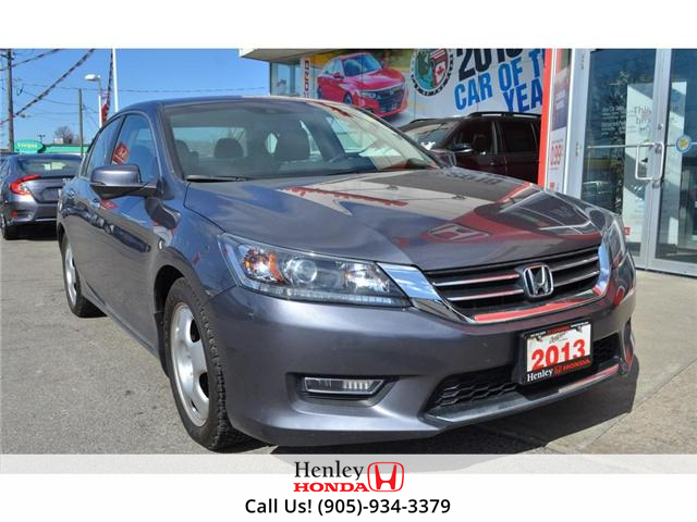 2013 Honda Accord EX-L LEATHER HEATED SEATS SUNROOF BACK UP CAM (Stk: H17758A) in St. Catharines - Image 2 of 24