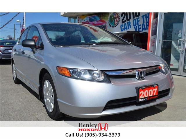 2007 Honda Civic DX LOW KMS 1 OWNER (Stk: R9345) in St. Catharines - Image 2 of 17