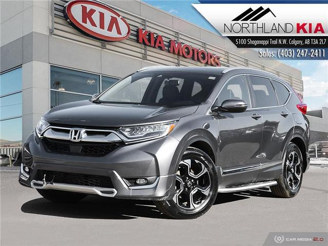 2017 Honda CR-V Touring (Stk: 8RI6805A) in Calgary - Image 1 of 27