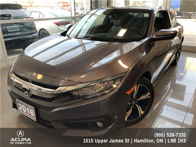 2016 Honda Civic Touring (Stk: 1613560) in Hamilton - Image 1 of 14