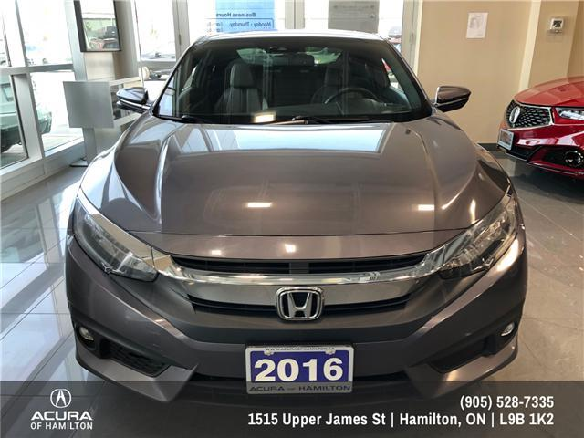 2016 Honda Civic Touring (Stk: 1613560) in Hamilton - Image 2 of 14