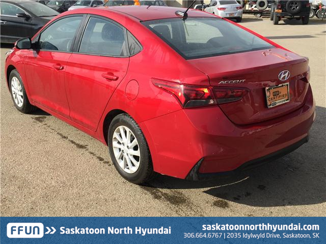 2018 Hyundai Accent GL (Stk: B7281) in Saskatoon - Image 5 of 25