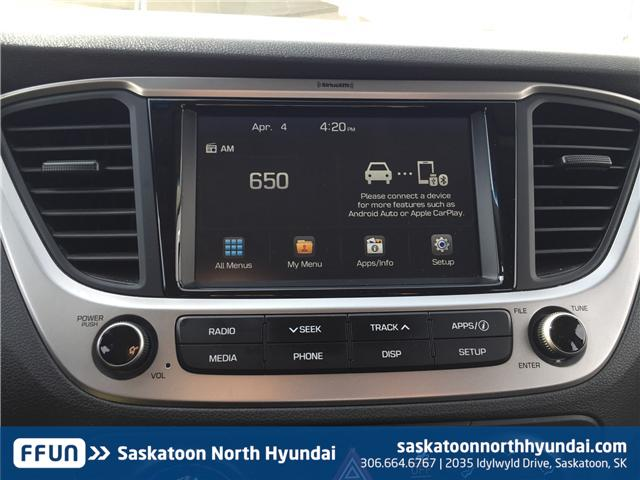 2018 Hyundai Accent GL (Stk: B7281) in Saskatoon - Image 20 of 25