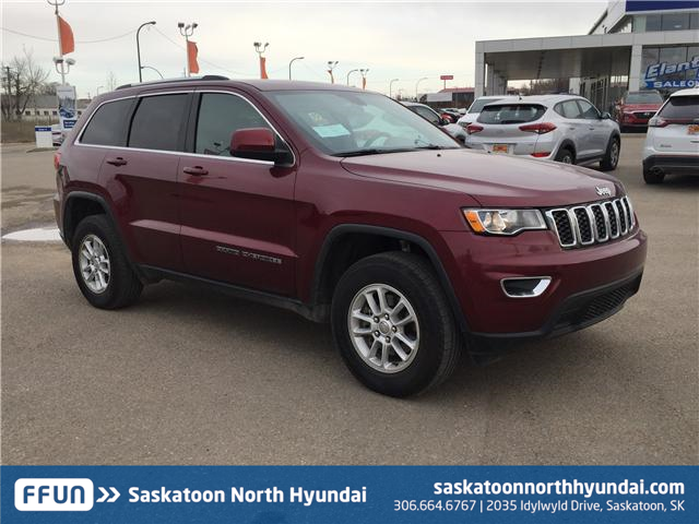 2018 Jeep Grand Cherokee Laredo 1C4RJFAG3JC134889 B7261 in Saskatoon