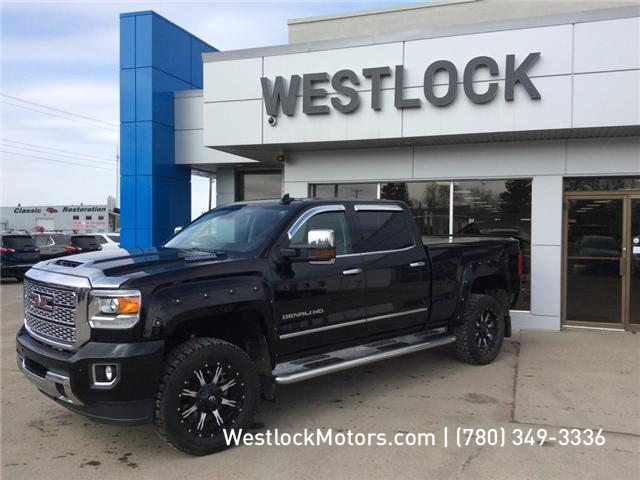 2017 GMC Sierra 3500HD Denali (Stk: T1854) in Westlock - Image 1 of 18