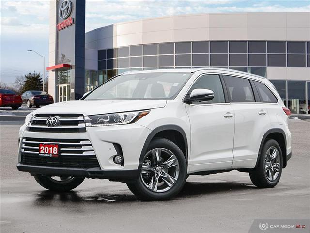 2018 Toyota Highlander Limited (Stk: U10978) in London - Image 1 of 27