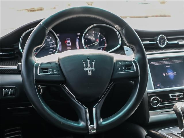 2014 Maserati Quattroporte S Q4 (Stk: U374) in Oakville - Image 13 of 26
