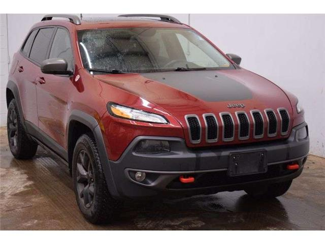 2016 Jeep Cherokee TRAILHAWK 4X4 - HTD SEATS * BACKUP CAM * LEATHER (Stk: B3653) in Kingston - Image 2 of 30