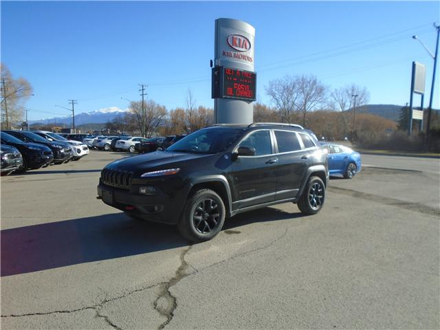 2016 Jeep Cherokee Trailhawk (Stk: L1340A) in Cranbrook - Image 1 of 16