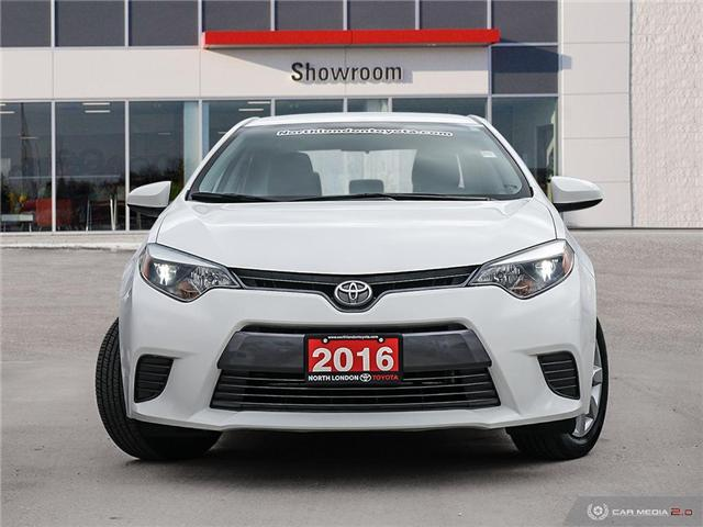 2016 Toyota Corolla LE (Stk: A219028) in London - Image 2 of 27
