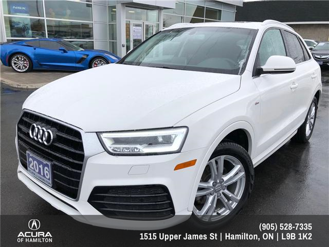 2016 Audi Q3 2.0T Technik (Stk: 1613700) in Hamilton - Image 1 of 18