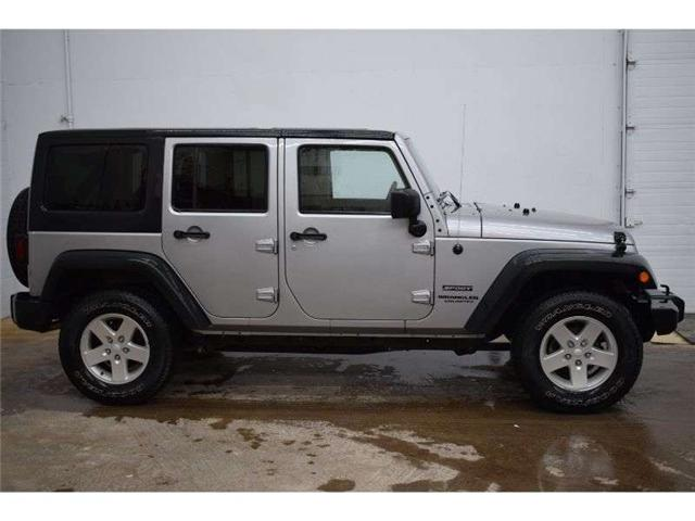 2015 Jeep Wrangler Unlimited SPORT 4X4 MANUAL - CRUISE * A/C * ALLOY RIMS (Stk: B3708) in Napanee - Image 1 of 30
